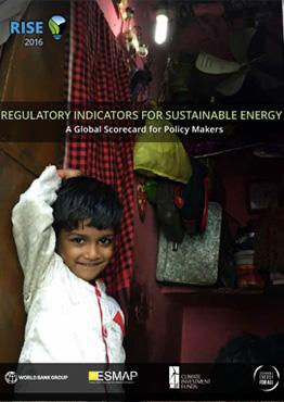 Regulatory Indicators For Sustainable Energy 2016